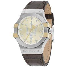 Men's Watch, Potenza Collection, Made of Stainless Steel, Leather - Maserati Suv, Maserati Alfieri, Maserati Granturismo Sport, Sport Watches, Watches For Men, Men's Watches, Maserati Levante, Second Hand Watches, Waterproof Watch