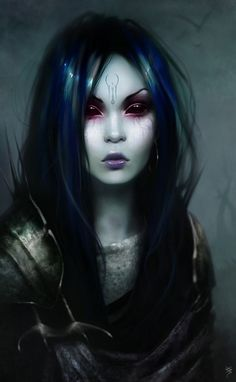 """""""Ulvelle Mira was a dunmer witch. Who practiced in conjuration. She was my…"""