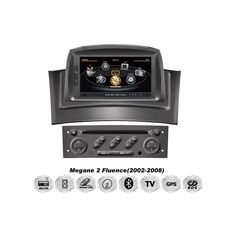 RENAULT-MEGANE-II-1-DIN-OEM-CAR-DVD-GPS-MULTIMEDIA-SYSTEM-Einbau-Navi