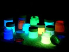 How To Make Your Own Glow In The Dark Paint     It is possible to make you own glow in the dark paint at home. It can save ...