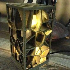 3D printed nightlight lantern #3dprinter #3dprinting