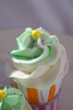 Skittles Cupcake Bubble Bath Bomb wonderful by WinterVallie, $4.00