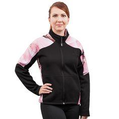 Women's Huntworth Lifestyle Fleece-Lined Soft Shell Hiking Jacket, Size: Medium, Black