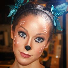 deer face painting ideas | Halloween Face Paint Designs and Ideas 2015
