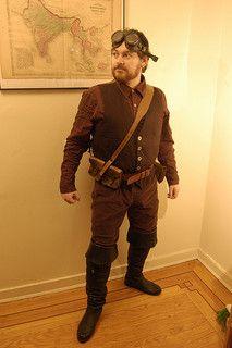 Steampunk Costume: Airship Captain - http://releasingsteam.com/steampunk-costume-airship-captain-2/
