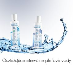 Dzintars A refreshing mineral water for face and body skin with aloe vera and A refreshing mineral water for face and body skin with sea algae, www. Mineral Water, Face And Body, Aloe Vera, Minerals, Beauty, Beauty Illustration