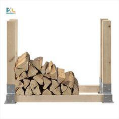 Táto praktická 2 kusová sada rohov Vám jednoducho pomôže vytvoriť stojan na palivové drevo, ktorý umožní palivové drevo pekne uložiť a v suchu skladovať. Takto narezané a narúbané drevo nezaberá veľa miesta a v poriadku je pripravené na použitie. Firewood, Texture, Crafts, Surface Finish, Woodburning, Manualidades, Handmade Crafts, Craft, Arts And Crafts