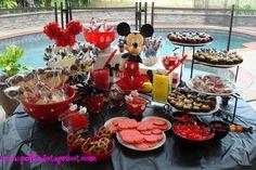 Disney Themed Candy Buffet