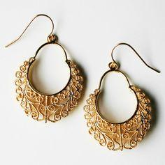 Filigree Dangle Earrings 9 usd