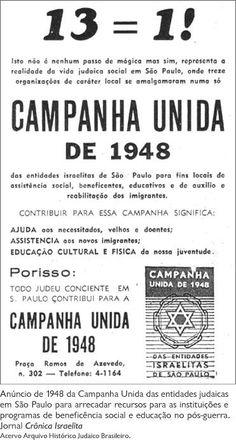 1948 - Campanha Unida.