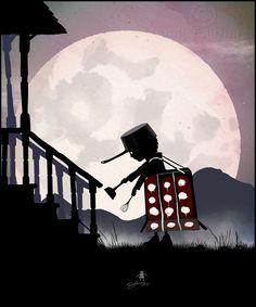 Dalek Kid - Andy Fairhurst Art