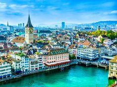 3. Zurich, Switzerland — The most expensive city in Europe, Zurich is a global centre for banking and has one of the best quality of life indexes in the world. Obviously, that quality of life doesn't come cheap.