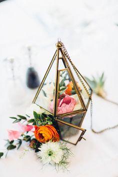 Colourful Geometric Spring Islington London Wedding by Lovestruck Photo   Co-ordination by London Bride