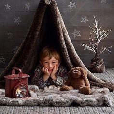 Que criança nunca brincou ou sonhou em ter uma cabana? (Via @cabanas_bacanas)