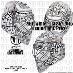 Carey Price's Winter Classic mask @canadiensmtl