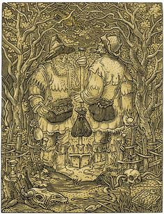 A collection of optical illusions and other visual oddities updated with a new illusion every weekday. Image Illusion, Illusion Pictures, Art Optical, Optical Illusions, Memento Mori, Skeleton Art, Skull Face, Gothic Art, Skull And Bones