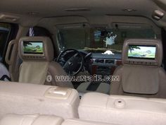 Onfair Customer Photo Car Headrest Dvd In 2008 Chevy Tahoe Lt Interior