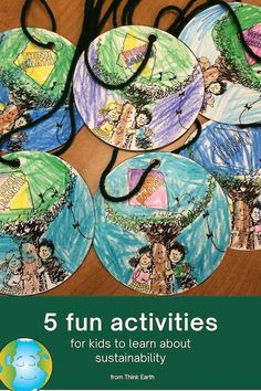 These free, fun learning activities will help kids understand why and how to make sustainable choices every day. Perfect for K-5 online learning, homeschool, or just for fun! Earth Day Activities, Science Activities For Kids, Science Lessons, Hands On Activities, Learning Activities, Environmental Education, Help Kids, Free Fun, Fun Learning