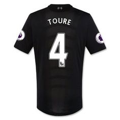 16-17 Liverpool Football Shirt Away Cheap #4 TOURE Jersey [F428]
