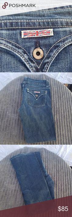 Hudson denim jeans Adorable Hudson denim jeans. Lightly used.Size 29. Hudson Jeans Jeans Flare & Wide Leg