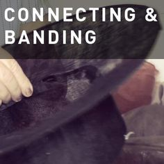 Hat Class Basics: CONNECTING & BANDING – How To Make Hats Millinery Classes | Hat Academy