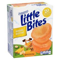 Entenmann's Little Bites Banana Muffins, Oz Quinoa Indian Recipes, Banana Blueberry Muffins, Junk Food Snacks, Little Bites, Banana Bites, On The Go Snacks, Mini Muffins, Snack Recipes, Baby Snacks