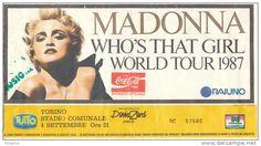"""Madonna: 30 anni dal suo famoso """"Ciao Italia! Ciao Torino!"""". 4 settembre 1987: Madonna in concerto a Torino incanta il pubblico di Rai Uno."""