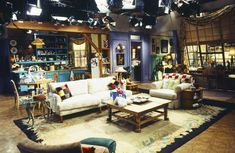 A look at Monica and Rachel's apartment: