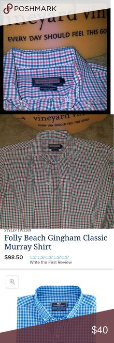 Vineyard Vines Murray Shirt Preppy and Professional. Men love to wear this at work ! Vineyard Vines Shirts