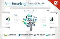 Benchmarking Powerpoint by Louis Twelve on @creativemarket