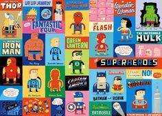 The Superheroes - Allan Sanders Superhero Classroom, Classroom Themes, Superhero Room, Superhero Party, Superhero School, Superhero Ideas, Hulk Man, Mister Fantastic, Free Comic Books
