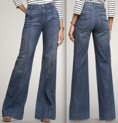 The high-waisted jeans!!