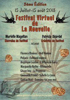 L'affiche du Festival Virtuel de La Nouvelle 2018