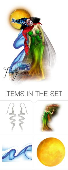 """Weird Science"" by halloweenismyfav ❤ liked on Polyvore featuring art and colorchallengeuseredyellowgreenandblue"