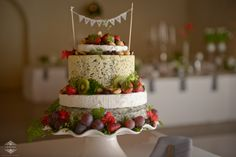 Cheese cake - Love this idea (Katherine and Wagner 2014)