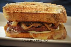 All the Best Burger Recipes: The Stout Patty Melt