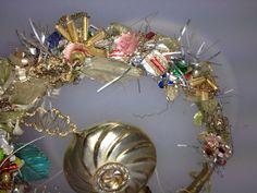 Alter Lauscha Christbaumschmuck Weihnachstschmuck Blüten Reigen ABSOLUT SELTEN | eBay