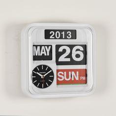 FARTECH Auto Calendar Flip Clock AD-640