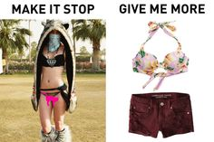 10 Music Festival Fashion Trends That Need to Die