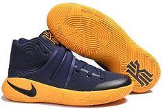 Nike Kyrie 2 Mens Basketball Shoes Cyan yellow0