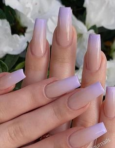 Nail Design Glitter, Nail Design Spring, Coffin Nails Ombre, Gel Nails, Gradient Nails, Edgy Nails, Swag Nails, Coffin Nails Designs Summer, Acylic Nails