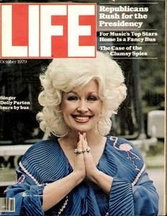 """Dolly Parton ~ Oct. 1, 1979 issue ~ ~ Old Life Magazines ~ Click image to purchase. Enter """"pinterest"""" at checkout for a 12% discount."""