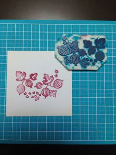 Pyrex gooseberry DIY Stamp