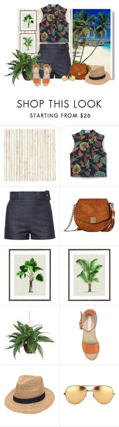 """319"" by treysi-whitney ❤ liked on Polyvore featuring NLXL, Samsung, MANGO, Balenciaga, Gabriella Rocha, Nearly Natural, See by Chloé, Gottex and Linda Farrow"