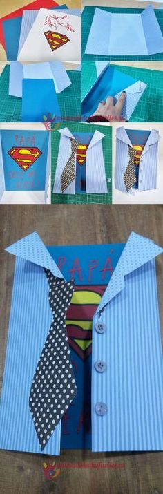 Divertida invitación de cumpleaños infantil. Consigue sorprender a todos los invitados con esta tarjeta de invitación DIY de superman. | This superman birthday invitation is going to charm all the children!! # #cumpleaños #invitaciones #invitacion #invitacioncumpleaños #superman