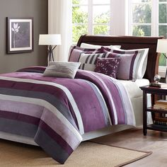 Madison Park Boulder 7 Piece Polyester Comforter Set
