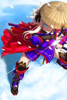 Anime Toon, Anime Comics, Kawaii Anime, Manga Anime, Character Art, Character Design, Type Moon Anime, Fate Stay Night Series, Miyamoto Musashi