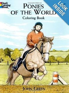 Ponies of the World Coloring Book (Dover Nature Coloring Book) Price:$3.55
