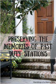 Preserving The Memor