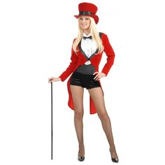 Fantasia Feminina Circo Luxo Festa Halloween Carnaval. Preço: R$85